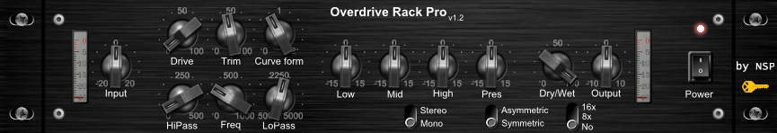 Overdrive Rack Pro